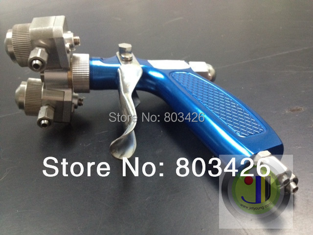JETYOUNG Dual heads Spray gun-Airbrush-Stainless Steel for Chrome Spray Plating, 1pc [JETYOUNG] -Chrome Plating Factory