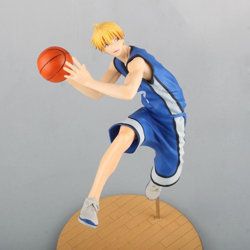 27CM Japanese anime figure Kuroko No Basketball Kise Ryota action figure collectible model toys  for boys<br>