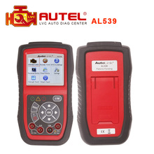Authorized Distributor Professional Autel AutoLink AL539 scanner OBDII+Electrical Test Tool update online Original In stock