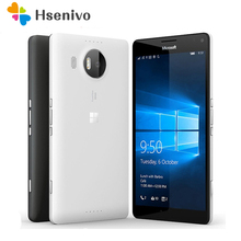 100% Original Microsoft Lumia 950 unlocked cell phone 20MP Camera NFC Quad-core 32GB ROM 3GB RAM LTE FDD WIFI GPS 4G phone(China)