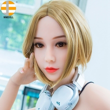 Buy WMDOLL 70# HEAD TPE silicone sex doll HEAD Japanese Adult Dolls Silicone Love Doll Oral Sexy Toy sexual products