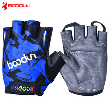 Children Road Bike Gloves Breathable Riding Half Finger Mountain Bicycle MTB Cycling Gloves for Kids Boys Girls Sports Gloves