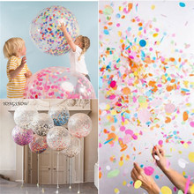 2.5cm 1000pcs Circle Shape Sprinkles Tissue Paper Confetti Boda Birthday Party Wedding Table Balloon Decoration Pinata Fillers(China)
