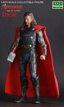 Crazy Toys Acengers Age of Ultron Thor PVC Action Figure Collectible Model Toy 30cm