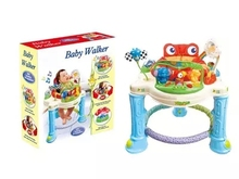Musical Baby Activity Center Rainforest Jumperoo Baby Walker Bouncer Rocking Chair Activity Walker With Discovery Toy