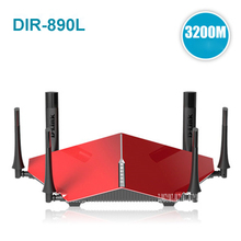 DIR-890L dlink 3200Mbs tri band six antenna 2.4G/5Ghz home wireless router fiber cloud ROUTER Strong coverage , IEEE 802.11ac