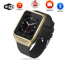 Zgpax s8 smartphone bluetooth smart watch android 4.4 mtk6572 dual core GPS 2.0MP camera WCDMA WiFi MP3 MP4 Smartwatch U8 PK Q18(China)