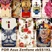 Cases Covers For Asus ZenFone Go TV ZB551KL ASUS_X013DB Cell Phone Cover Shell Sleeve Top Selling Painting design Hard Plastic