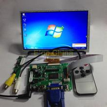 "HDMI/VGA/2AV Board + Reversing Driver Board + 7"" AT070TN92 800*480 LCD Module Display Monitor for Raspberry Pi(China)"
