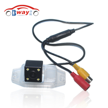 BW8143 Free Shipping Waterproof car rear camera for 11/13/14/15 Toyota Prado with Spare tire Rear View Camera backup camera(China)