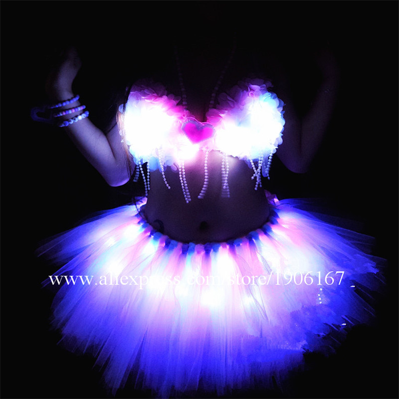Led Sexy girl dress03