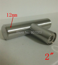 "(Diameter 12mm,Length:50mm) 2"" Furniture Hardware Kitchen Cabinet Handle, Bar Pull Handle Stainless Steel T Handles"