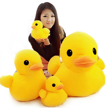 "Free shipping 1pcs 20cm=7.9"" Big Yellow Duck Stuffed Animals Plush Toy,Cute Big Yellow Duck plush toys For Birthday gift(China)"