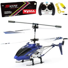 Original SYMA S107G Mini RC Helicopter 3CH 3.5 Channel Remote Control Drone with Gyro LED Aircraft Return with One Key Toys