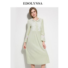 Nightgowns Sleepshirts 2018 Home Dress Nightdress Soft Sleepwear Solid Sleep  Lounge Lace Nightgown Female Sexy Nightwear  H432 ca34c19e0