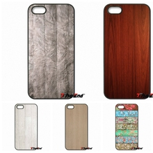 wood design Wooden Classic Print Phone Case Cover For iPhone 4 4S 5 5C SE 6 6S 7 Plus Samsung Galaxy Grand Core Prime Alpha