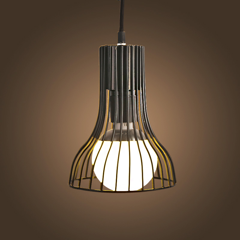 Retro Vintage Pendant Light Industrial Classical Loft Lamps 220V Bar Cafe Living Room Restaurant Wrought Iron Pendant Cages Lamp<br>
