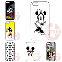 Bad Mickey Middle Finger Original For Apple iPhone 4 4S 5 5C SE 6 6S 7 7S Plus 4.7 5.5 iPod Touch 4 5 6