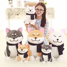 LeadingStar Cute Akita Dog Plush Toy Stuffed Animal Plush Sofa Pillow Great Gift for Kids Good Household Ornament zk30(China)