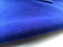 1 meter dark blue fleece fabric adhesive brushed woven fabric for DIY sewing Stuffed toys sofa furniture material Warp