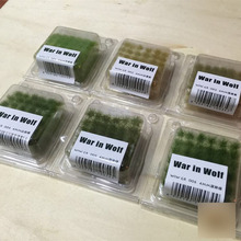Model scene scene supplies Grass Tuft Grass needle Grass cluster Free Shipping(China)