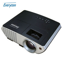 Original Everycom X8 Video Projector Home Theater LCD Proyector 2500 lumens Full HD with HDMI VGA USB LCD Projector MINI Beamer