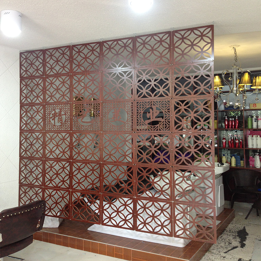 room divider partition wood promotion-shop for promotional room