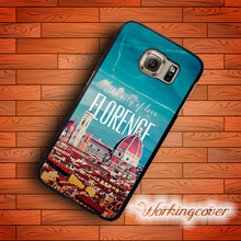 Fundas Firenze Florence Italy City Case for Samsung Galaxy Note 7 5 4 3 Case Cover for Galaxy S7 S6 S5 S4 S3 Mini Active Case.