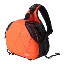 Waterproof Sling Shoulder Cross Camera Bags Digital Camera Case Soft Men Women Shockproof Camera Messenger Bag For Canon