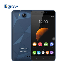 Original OUKITEL C3 Multi-Touch 5.0 Inch Smartphone Android 6.0 MT6580 Quad Core 1G RAM 8G ROM Mobile Phone Dual SIM Cell phones(China)