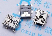 10pcs Mini USB connector SMD USB Data interface 5PIN 5 needle mini Micro usb socket Free shipping
