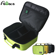 Portable Travel Digital Gadget Case Storage Bags Electronics Accessories Organizer Bag For Earphone Charger USB Data Flash Drive