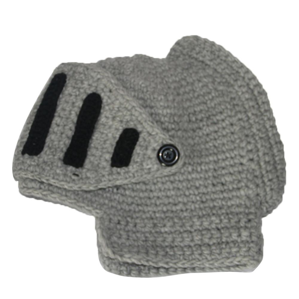 Fashion Unisex Winter Keep Warm Roman Knight Knit Hat Face Neck Wind Handmade Cotton Hat Gladiator Masks Cap BeaniesÎäåæäà è àêñåññóàðû<br><br><br>Aliexpress