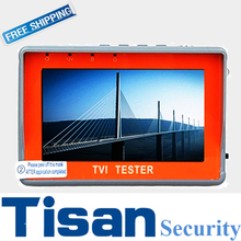 "4.3"" Wrist TFT LCD TVI Analog 2 in 1 CCTV test monitor for security system"
