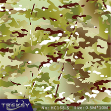 0.5M*10M Camouflage Military Hydrographics Water Tranfer Printing Film HC168-S,Pva Water Soluble Film, Hydro Dipping Camo(China)