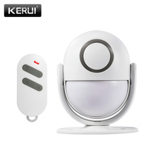 KERUI P6 Welcome Alarm Chime Wireless Security Protection Infrared IR Motion Sensor Door bell Alarm Doorbell+Remote Controller