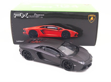 Free Shipping 1:24 Welly Aventador LP700-4 Black Diecast Model Toy Car New in Box