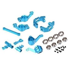 Blue and purple RC HSP 1/10 Upgrade Parts 102010 102011 102012 102057 102040 102068For 94123/94111/94107/94106 Truck Buggy(China)