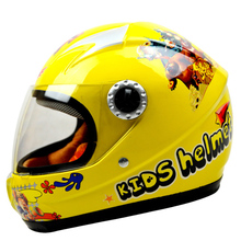 ABS kids helmet children Motorcycle Helmet helmet safety for kids skate helmet with Collar size 48-55cm 720g