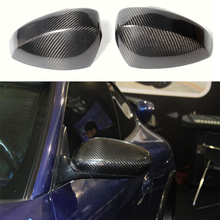 For Nissan Z33 350Z JDM Real Carbon Fiber Mirror Cover Cases 2003-2008