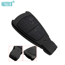 Okeytech Old Style 3 Button Design Benz Mercedes C180 1998-2004 W202 Key Case Smart Card Shell Insert Blade Free Shipping