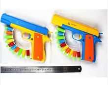 1PCS M1911 Classic Toys Mauser pistol Children's toy guns Soft Bullet Gun plastic Revolver Kids Fun Outdoor game shooter safety(China)
