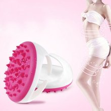 New Arrival Soft Bath Shower Body Anti Cellulite Massager Brush Glove Beauty Lose Weight for Arm Leg Body Massager(China)