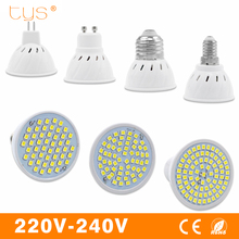 LED Lamp E27 E14 GU10 MR16 220V Lampada LED Spotlight Bulb SMD 2835 Bombillas Spot Light Led Bulb Lamparas White/Warm White
