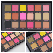 18 colors naked eyeshadow matte pearl Eyeshadow Palette Shimmer Colors Makeup Kit women makeup cosmetic