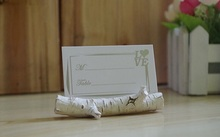 Wedding Place Card Holder Tree Branches Miniature Place Card Holder Table Name Card Holder 4pcs(China)