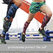 YINGTOUMAN 2pcs/lot Sell Well Outdoor Football Cycling Calf Guard Sleeve Protector Knee Brace Sports Safety Leg Warmer(China)