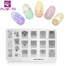 KADS 32 Designs Choice 1pc New Arrival Stamp Plate Christmas Flowers Halloween Fashion Style Design DIY Image Manicure Plate(China)