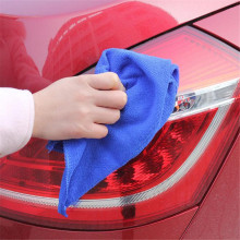 Car-styling 30*30cm Soft Microfiber Car Cleaning Towel Car Wash Dry Clean Polish Cloth For Car Accessories brush carmicrofiber