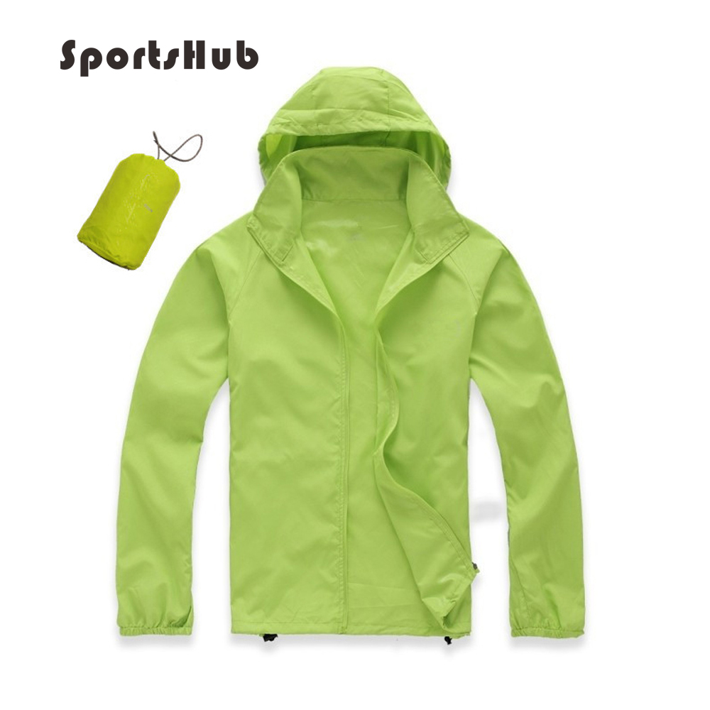 SPORTSHUB Ultra light Windproof Outdoor Camping Sport Jacket Bike Bicycle Cycling Hiking Jacket Windcoat Fishing Jacket